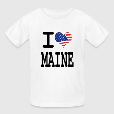 i love maine - Kids' T-Shirt