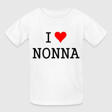 i_love_nonna_tshirt - Kids' T-Shirt