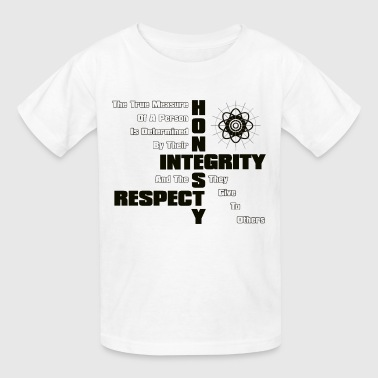 Honesty Integrity Respect Men's T-Shirt - Kids' T-Shirt