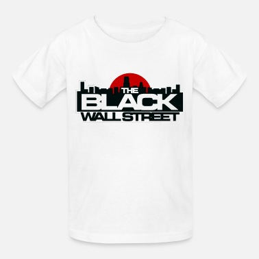 Black Wallstreet 17 - Kids' T-Shirt