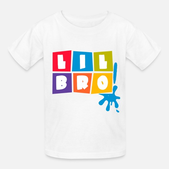 Brother T-Shirts - little_brother_shirt - Kids' T-Shirt white