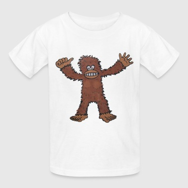 Monkey King Kong Or Big Foot - Kids' T-Shirt