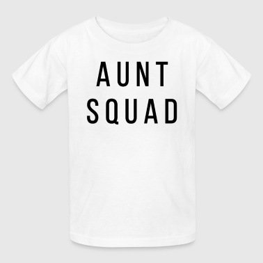 Aunt Squad Gift for Aunts Auntie - Kids' T-Shirt