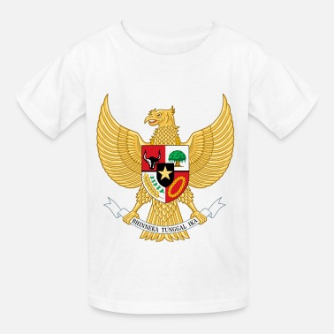 Funny Indonesia Crest Indonesia (dd)++ - Kids' T-Shirt