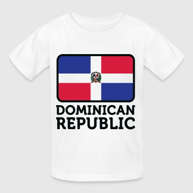 Dominican Flag Flag Dominican Republic 2 (dd)++ - Kids' T-Shirt