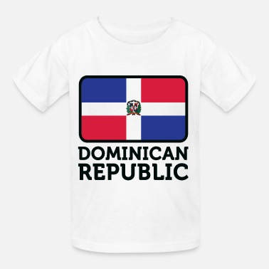 Dominican Republic Kids Flag Dominican Republic 2 (dd)++ - Kids' T-Shirt