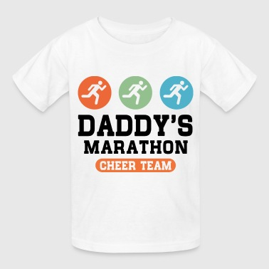 Dad's Marathon Cheer Team - Kids' T-Shirt