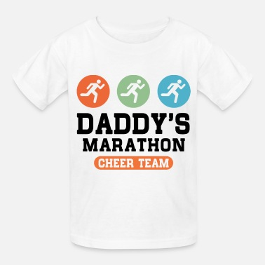 Dad Marathon Dad's Marathon Cheer Team - Kids' T-Shirt