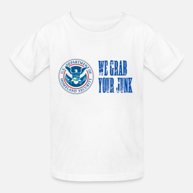 Molestation TSA We Grab Your Junk - Kids' T-Shirt
