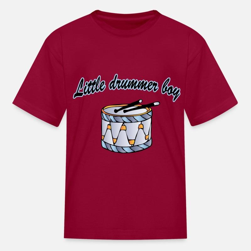 1239817b little drummer boy Kids' T-Shirt | Spreadshirt