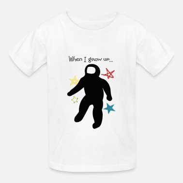 When I Grow Up When I Grow Up Astro - Kids' T-Shirt