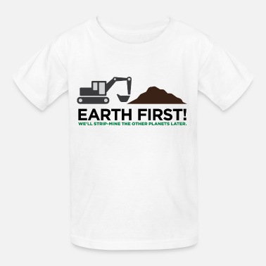 Ecological Earth First 2 (dd) - Kids' T-Shirt