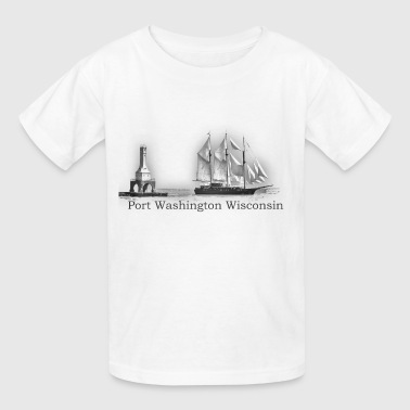 Peacemaker in Port - Kids' T-Shirt