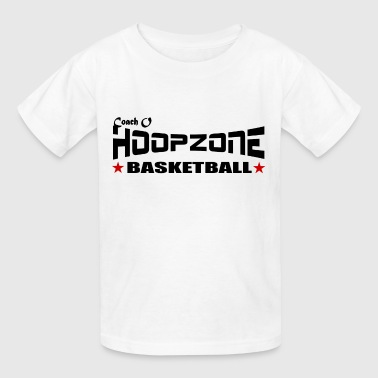 Basketball Hoops Sports Ball Hoopzone Basketball Motivational Inspirational 2Front4lite.png - Kids' T-Shirt