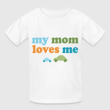 Retro Cars My Mom Loves Me - Kids' T-Shirt
