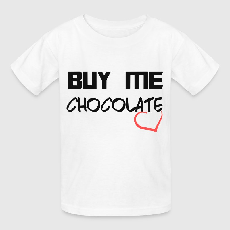 BUY ME CHOCOLATE - Kids' T-Shirt