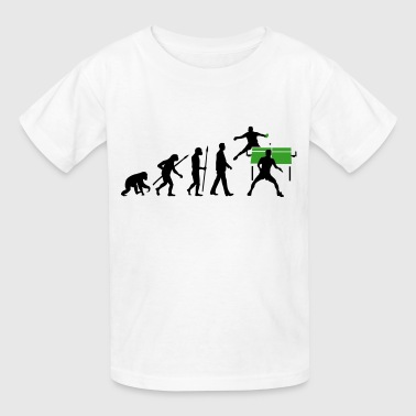 evolution_tischtennisspieler_102012_b_2c - Kids' T-Shirt