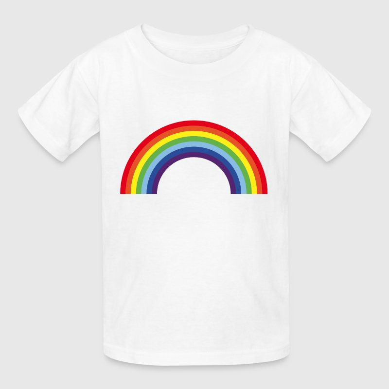Rainbow / Arc-En-Ciel / Arcoíris (7 Colors) - Kids' T-Shirt