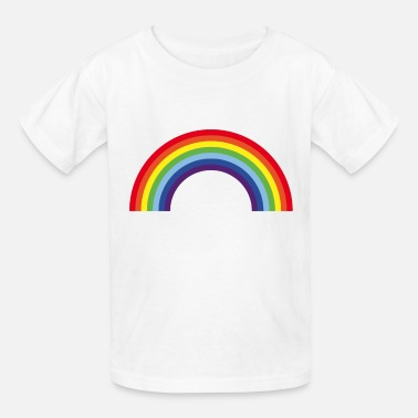 Rainbow Kids Rainbow / Arc-En-Ciel / Arcoíris (7 Colors) - Kids' T-Shirt