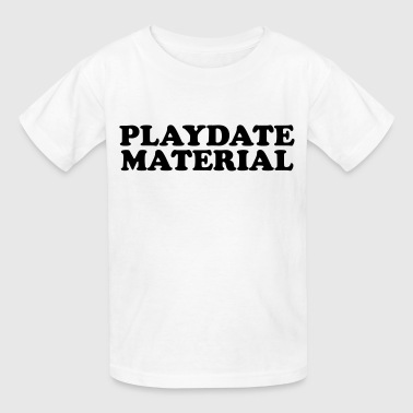 Playdate material - Kids' T-Shirt
