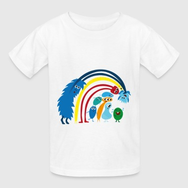 Laughing Monster - Kids' T-Shirt