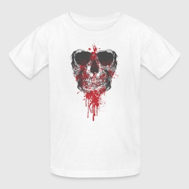Bloody skull - Kids' T-Shirt