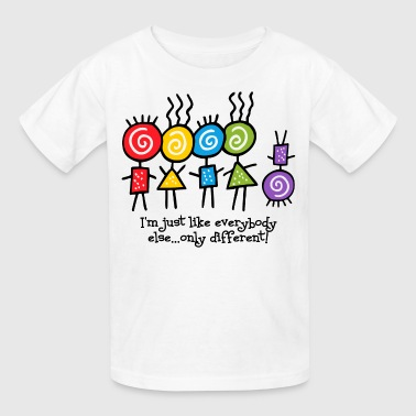 Needs Same Only Different - Kids' T-Shirt