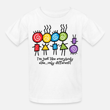 Down Syndrome Awareness Same Only Different - Kids' T-Shirt