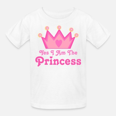 Princess Crown Princess Crown Gift For Girls - Kids' T-Shirt