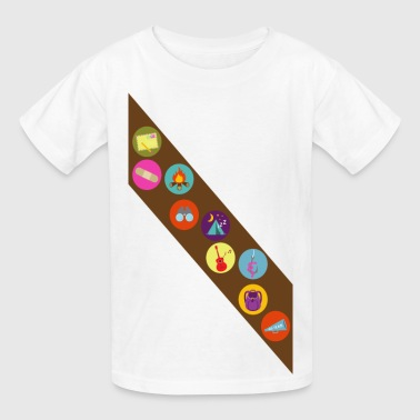 Camp Badges - Kids' T-Shirt