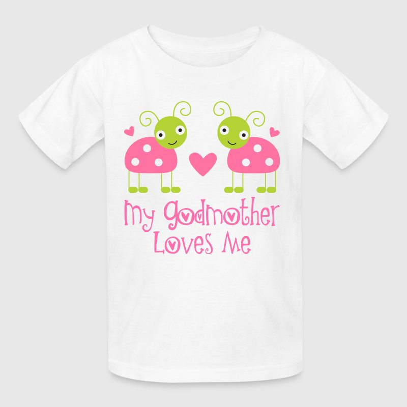 My Godmother Loves Me - Kids' T-Shirt