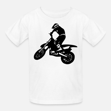 Motorbike Motorbike Man - Dirt Racing - Kids' T-Shirt