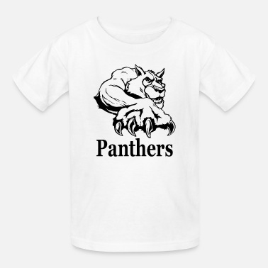 Basketball Panther Panthers - Kids' T-Shirt