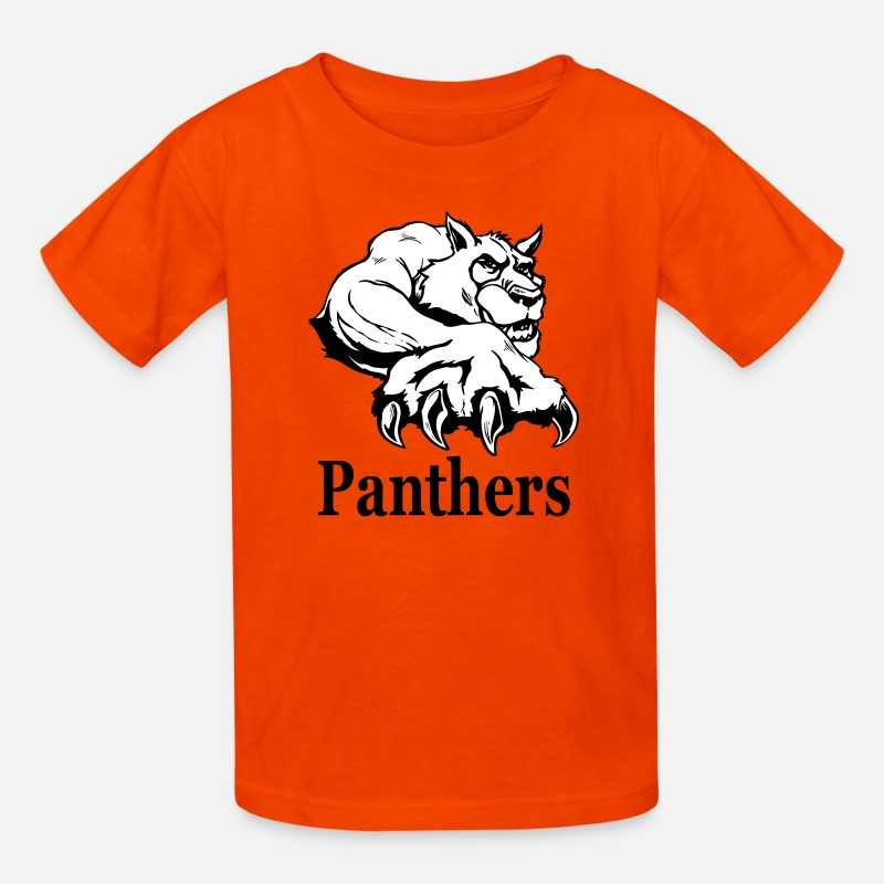 premium selection 9ebb5 5c9de Panthers Kids' T-Shirt - orange