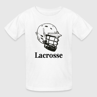 Lacrosse black - Kids' T-Shirt