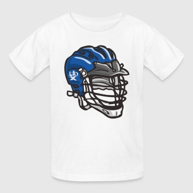 LaX Helmet Blue - Kids' T-Shirt