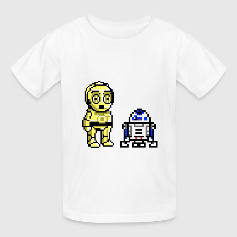 c3p0 and r2 - Kids' T-Shirt