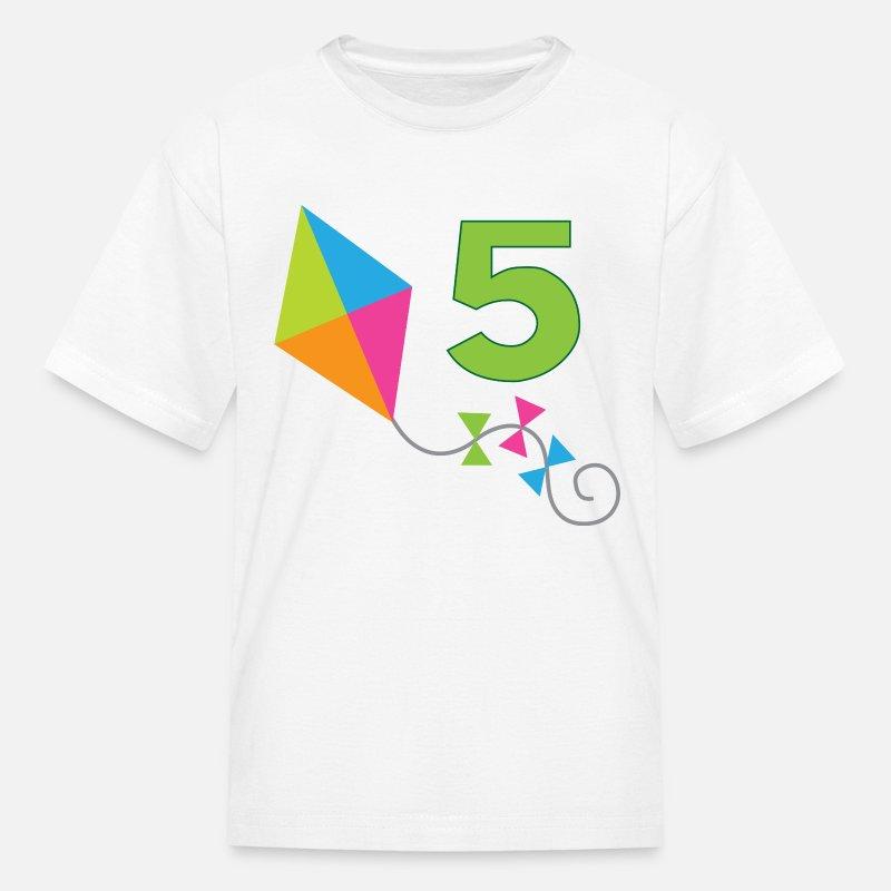 5th Birthday 5 Year Old Kids T Shirt