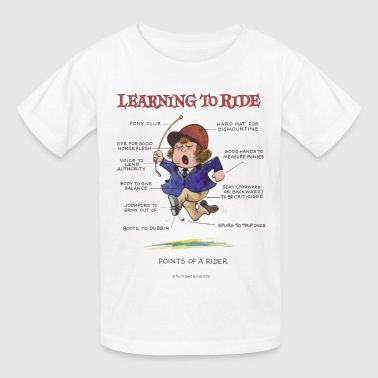 Thelwell Thelwell Points Of A Rider Learning - Kids' T-Shirt