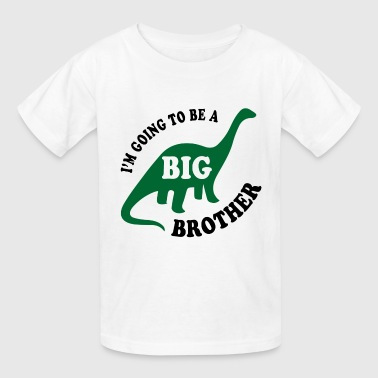 Big Brother Dinosaur - Kids' T-Shirt