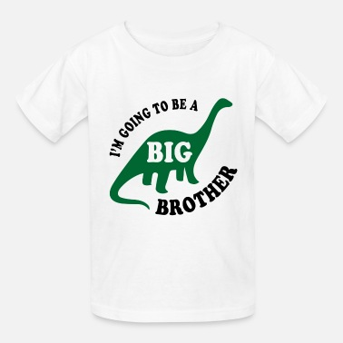 Going To Be A Big Brother Big Brother Dinosaur - Kids' T-Shirt