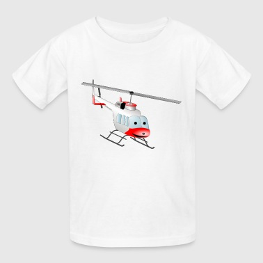 airplane aeroplane flugzeug heissluftballon air ba - Kids' T-Shirt