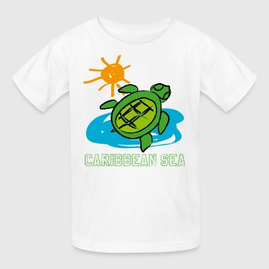 TURTLE CARIBBEAN - Kids' T-Shirt
