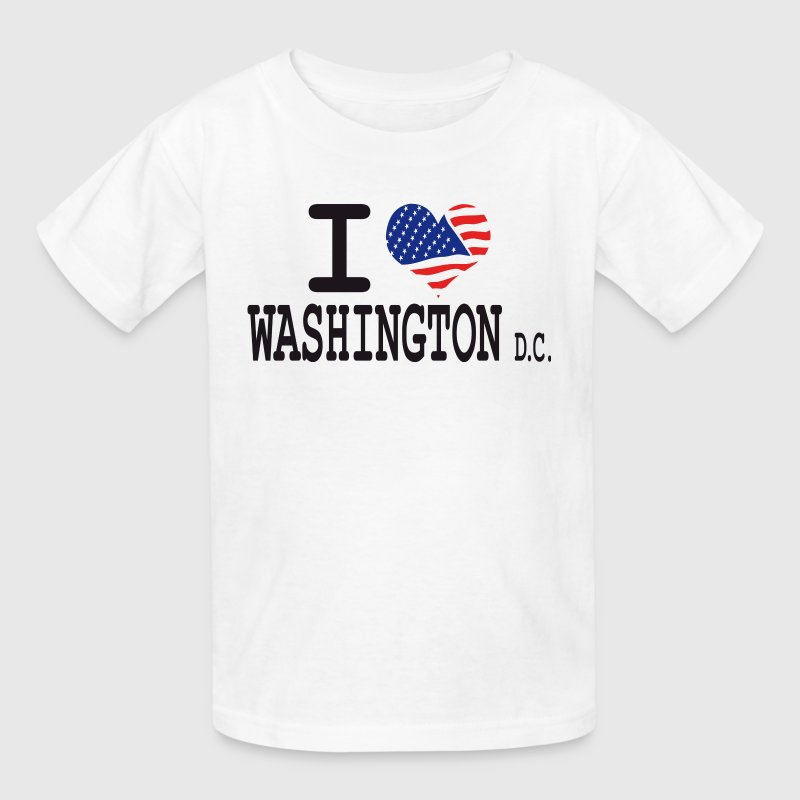 i love washington dc - Kids' T-Shirt