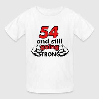 54 birthday design - Kids' T-Shirt