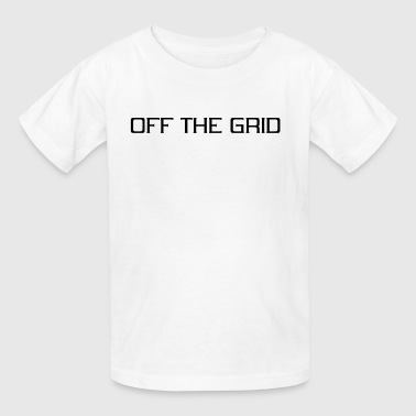 Off the grid - Kids' T-Shirt