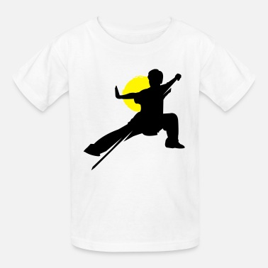 Wushu Wushu Pose Art - Kids' T-Shirt