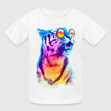 MULTI COLORED TIGER - Kids' T-Shirt