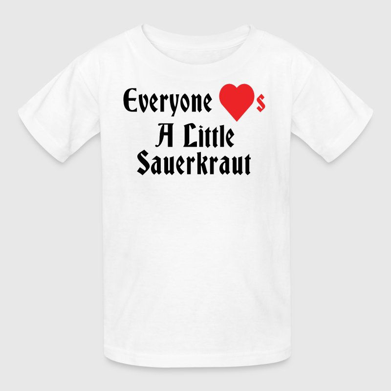 German Everyone loves A Little Sauerkraut - Kids' T-Shirt