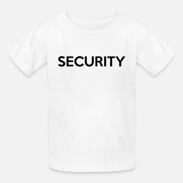 Security Quotes SECURITY - Kids' T-Shirt